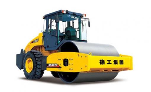 Каток дорожный однобарабанный XS142J
